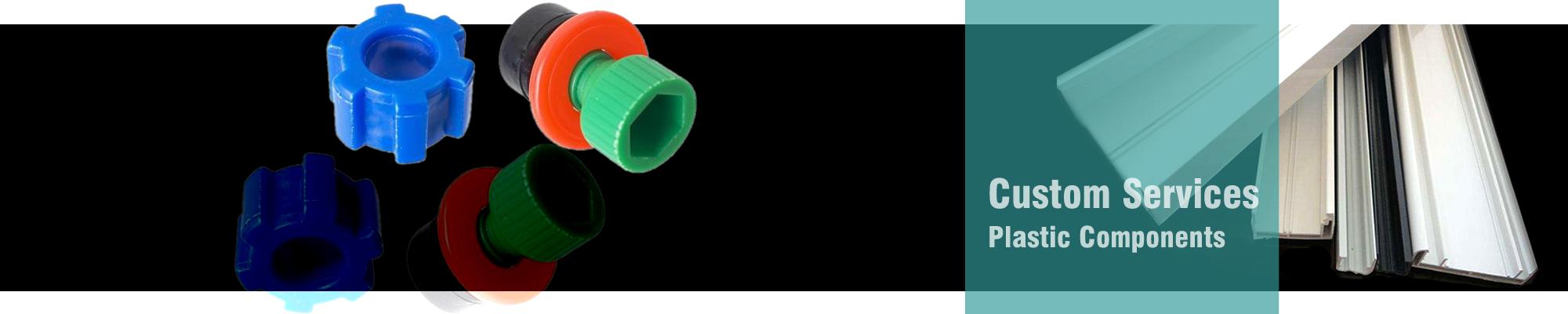 Custom plastic components